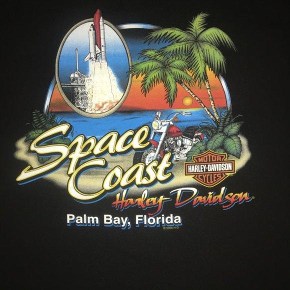 Harley-Davidson Other - Harley-Davidson Space Coast Palm Bay FL XL Tshirt
